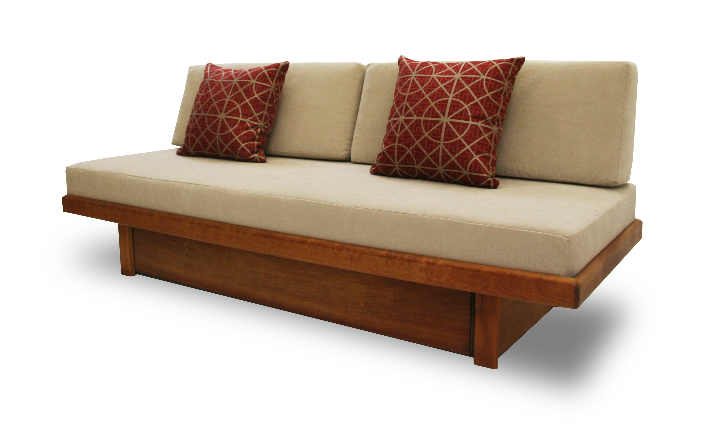 Mondrian storage daybed couch Daybeds with storage